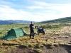 wildes Campen in Jotunheimen