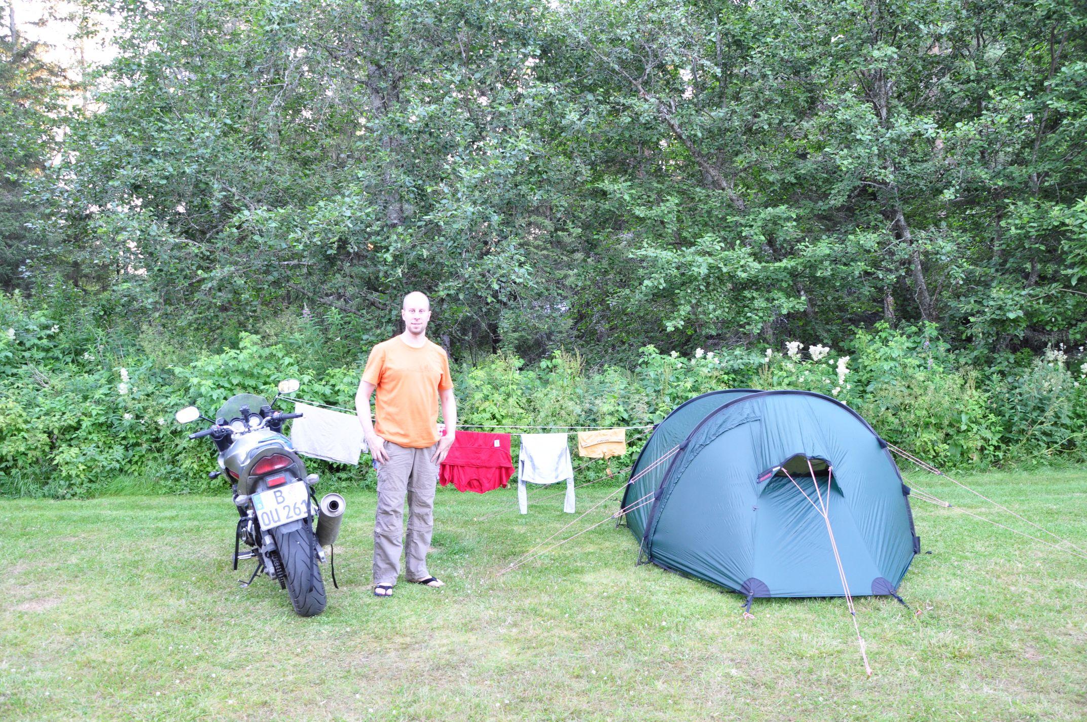 mein Nachtlager in Namsos