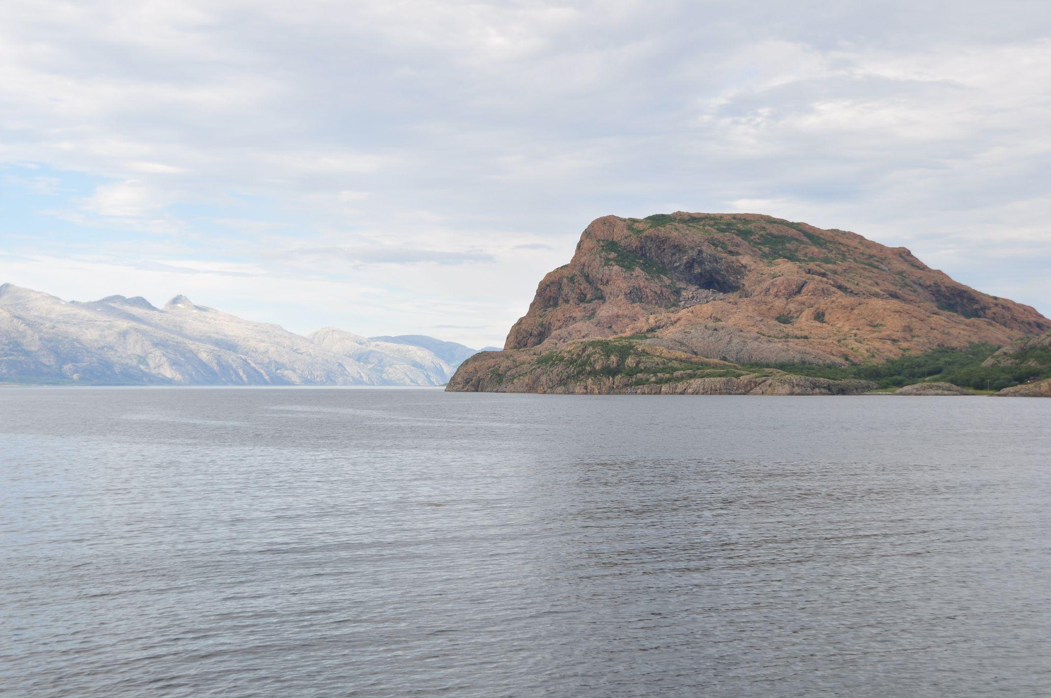 Inseln im Fjord