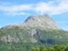 gigantische Felsformationen