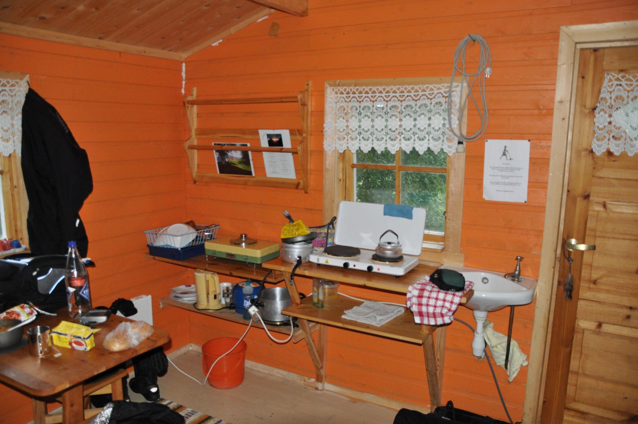 Hütte nahe Steira