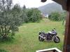 meine Suzi parkte vor der Hütte