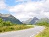Straße auf den Lofoten