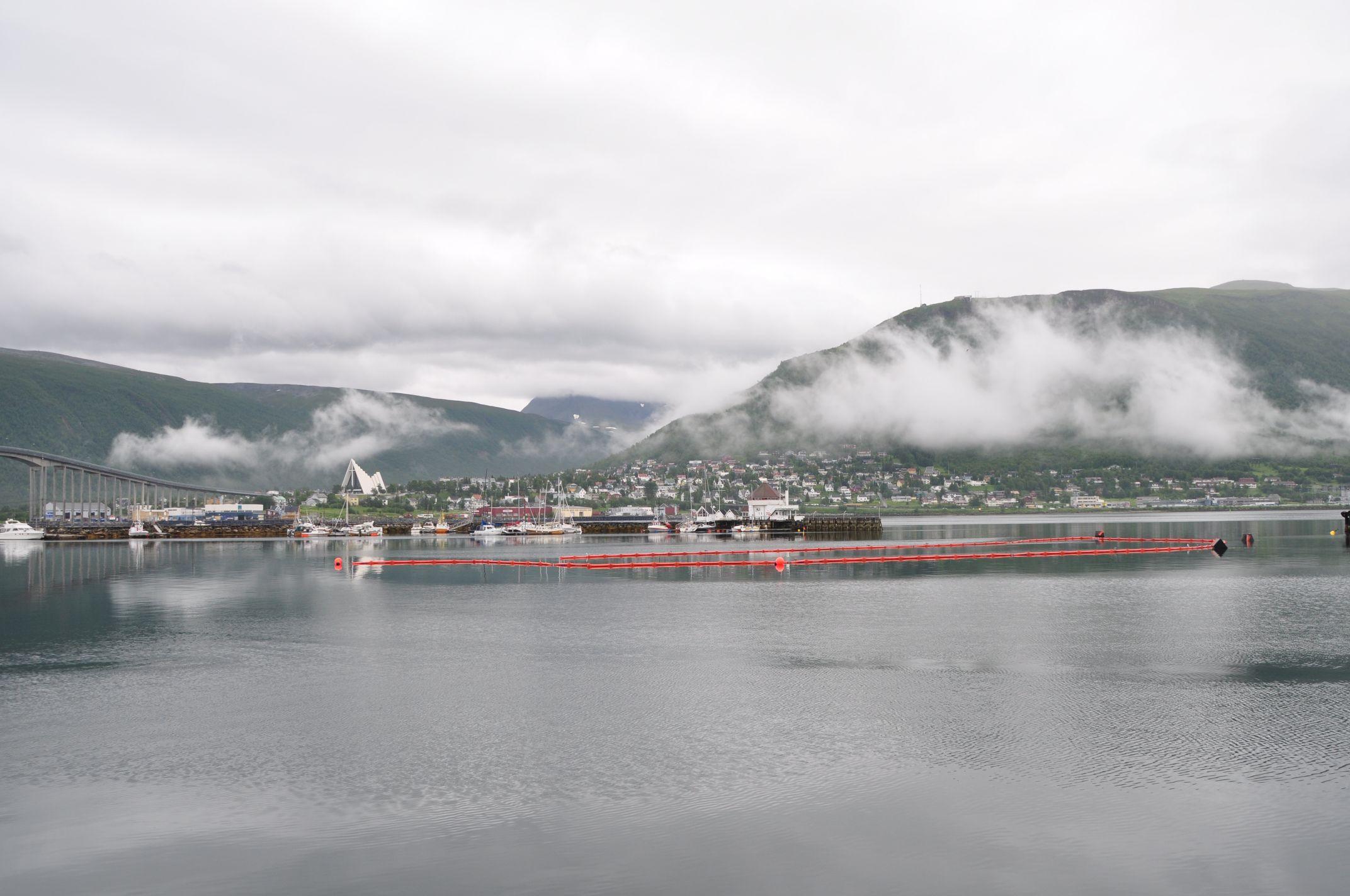 Hafen in Tromso