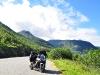 mein Motorrad und ich in Norwegen