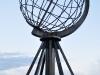 der Nordkap-Globus