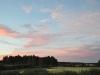 Abendhimmel in Finnland