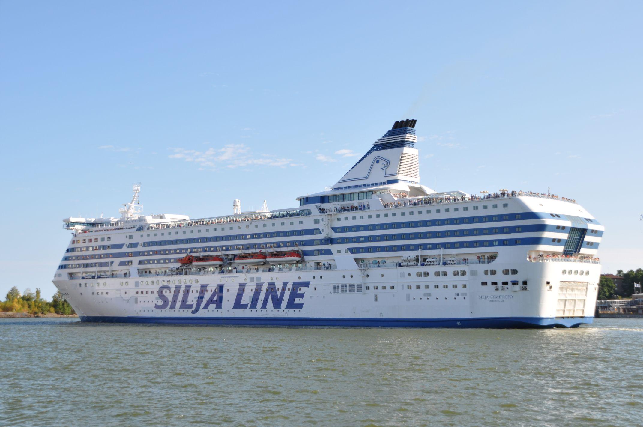 Kreuzfahrtschiff in Helsinki