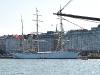 Segelschiff im Hafen von Helsinki