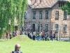 der Eingang vom KZ Auschwitz
