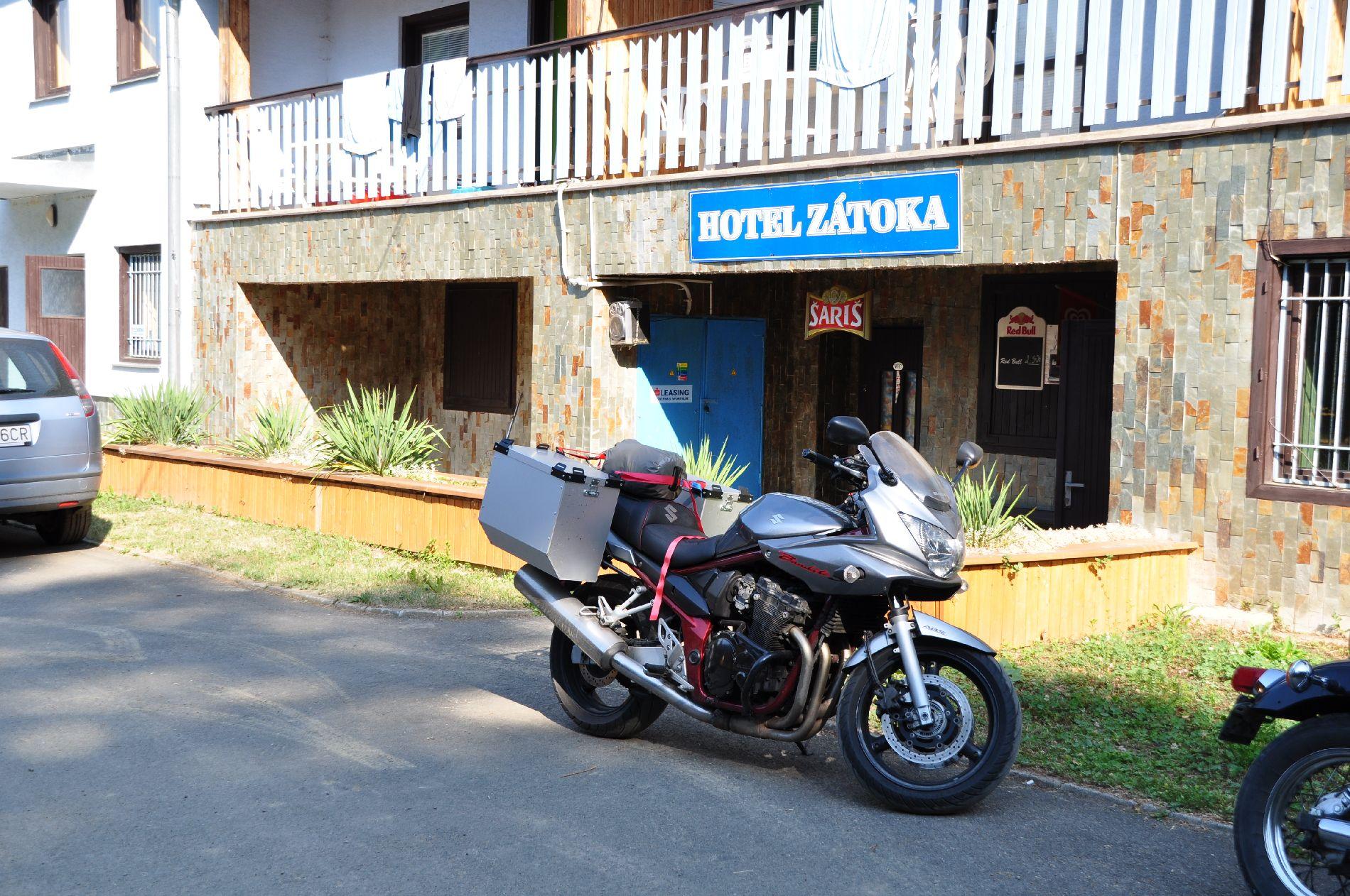 Hotel Zatoka nördlich von Vranov in der Slowakei