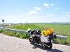 ein kurze Pause an der Autobahn Richtung Odessa