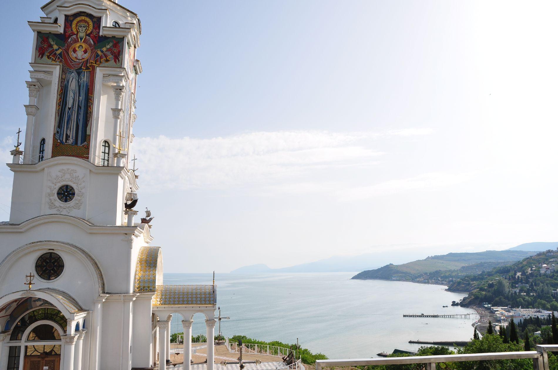 die Schwarzmeerküste der Krim