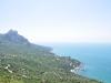 die Schwarzmeerküste auf der Krim
