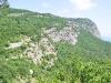 die bergige Küste der Krim
