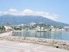 die Strandpromenade in Jalta