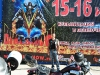 die Night Wolves helfen bei den Vorbereitungen zur Bikershow in Sevastopol