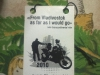 Visitenkarte von Sinus einem russischen Motorradreisenden