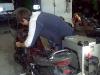 Alexej repariert meine Bandit