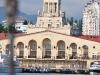 das Hafengebäude von Sochi