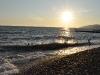 Sonnenuntergang am Strand von Sochi