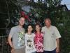 v.r.n.l. Iwan, Julia, Naira und ich