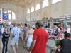 auf dem Markt mit Natascha und Vlad