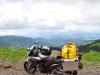 die Bandit mit einem tollen Panorama im Hintergrund