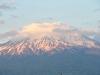 der Ararat am Abend der Ankunft