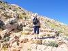ein steiniger, steiler Weg nach oben