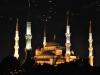 eine Moschee direkt vor dem Hotel Alzer in Istanbul