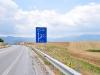 auf dem Weg zur Grenze in Griechenland