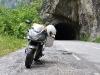 unterwegs ging es durch unzählige Tunnel