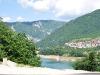 an einem See in Montenegro