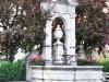 ein Brunnen in Admont
