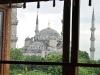 die Moschee vor dem Hotel